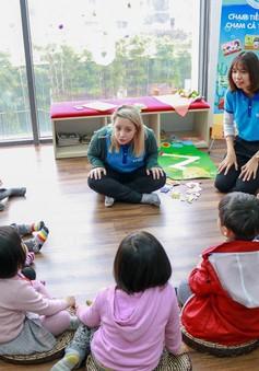 Bí quyết tạo cảm hứng học tiếng Anh cho trẻ mầm non