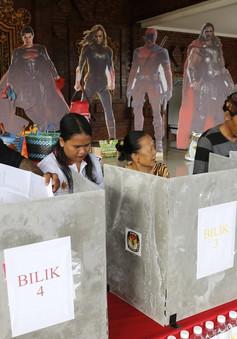 Tranh cãi về kết quả sơ bộ bầu cử Indonesia