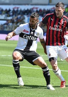 """Chia điểm thất vọng với Parma, AC Milan sắp """"bật bãi"""" khỏi top 4 Serie A"""