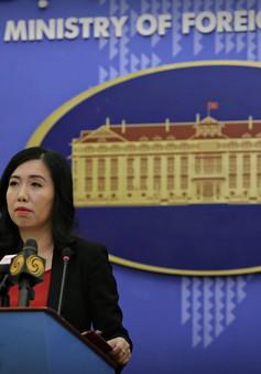 Bộ Ngoại giao lên tiếng về vụ 14 ngư dân Việt Nam bị tàu của Indonesia bắt giữ