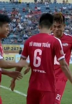 CLB Quảng Nam 0-2 CLB Viettel: 10 phút bùng nổ