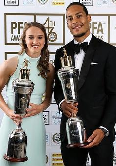 Vượt mặt các sao tấn công, Van Dijk nhận giải Cầu thủ xuất sắc nhất Ngoại hạng Anh