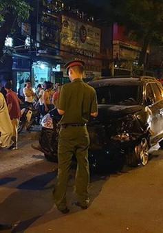 Khởi tố bị can, bắt tạm giam lái xe gây tai nạn liên hoàn trên đường Láng, Hà Nội