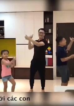 Những ông bố đảm đang của showbiz Việt