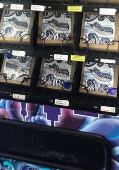 Mỹ lắp máy tự động bán thuốc điều trị nghiện thuốc giảm đau opioid