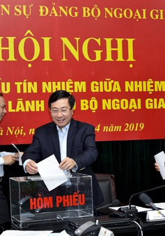 Gắn kết công tác của Đảng với công tác xây dựng ngành Ngoại giao