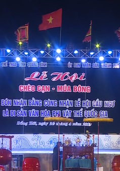 Công nhận Lễ hội Cầu ngư là di sản văn hóa phi vật thể quốc gia