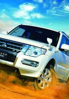 """""""Huyền thoại"""" sa mạc Mitsubishi Pajero tung phiên bản cuối cùng"""