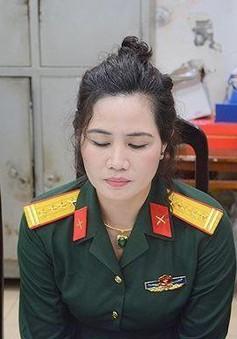 Phát hiện đối tượng nữ giả danh Đại tá Quân đội