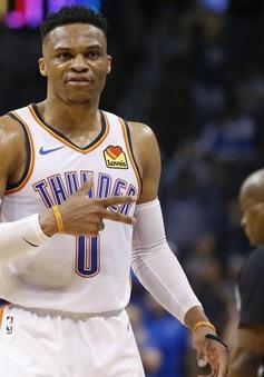 Russell Westbrook tái lập thành tích của huyền thoại NBA