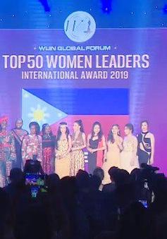 Vinh danh 50 nữ lãnh đạo quốc tế - WLIN 2019