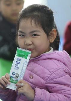 Chương trình Sữa học đường Hà Nội: Ấn tượng những con số ban đầu