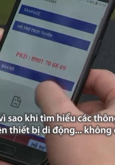Giật mình trước nguy cơ lộ thông tin người tìm mua hàng khi truy cập 3G/4G