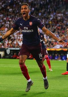Aubameyang lập hat-trick, Arsenal góp mặt ở chung kết UEFA Europa League