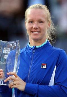 Kiki Bertens lần đầu tiên vô địch đơn nữ Madrid mở rộng
