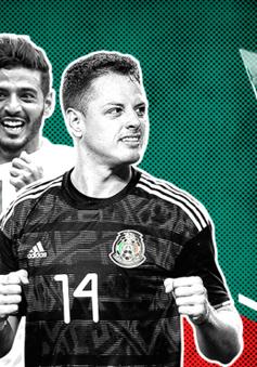 """Carlos Vela & Javier """"Chicharito"""" Hernandez vắng mặt tại Cúp vàng CONCACAF 2019"""