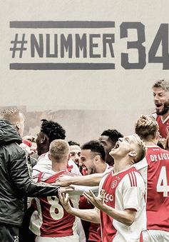 De Graafschap 1-4 Ajax: Chức vô địch lần thứ 34