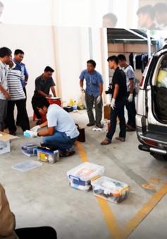 Có 5 người liên quan trong vụ giết người đổ bê tông giấu xác ở Bình Dương