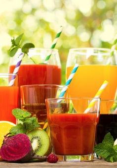 Uống quá nhiều nước ép trái cây làm tăng nguy cơ tử vong sớm