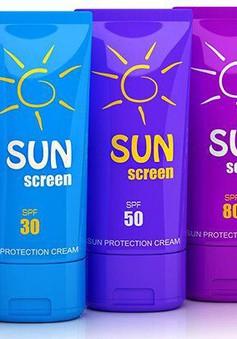 2/3 số kem chống nắng tại Mỹ không an toàn