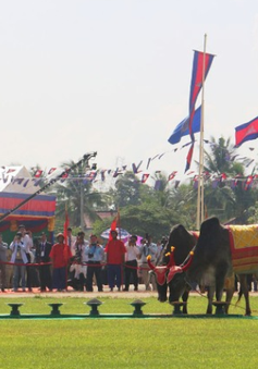 Hoàng gia Campuchia tổ chức Lễ Hạ điền 2019