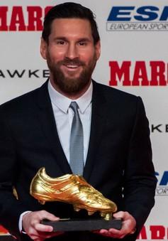 Messi gần như chắc chắn giành danh hiệu Chiếc giày Vàng châu Âu