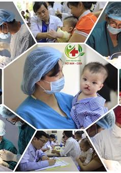 Phẫu thuật nhân đạo các dị tật khe hở môi, hàm ếch, thừa ngón tay, chân tại Hà Nội