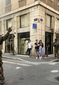 Pháp bắt giữ nghi phạm trong vụ nổ tại Lyon