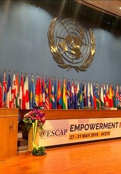 Việt Nam dự Khóa họp 75 Ủy ban Kinh tế - Xã hội châu Á-Thái Bình Dương