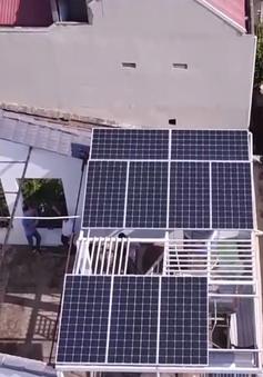 Giá điện tăng cao, người dân đua nhau lắp điện mặt trời