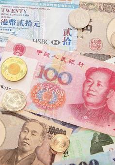 Nhiều đồng tiền châu Á giảm giá