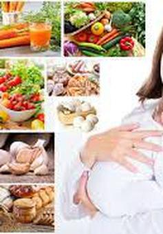 Dinh dưỡng cho mẹ bỉm sữa sau sinh