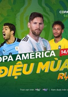 K+ chính thức sở hữu bản quyền của Copa America 2019
