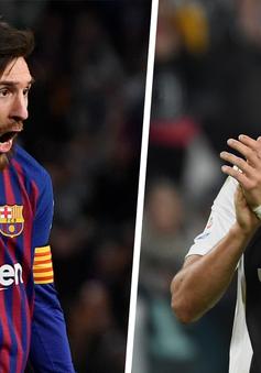 """Thế giới bóng đá có """"vua"""" mới, Messi chỉ đứng hạng 7"""