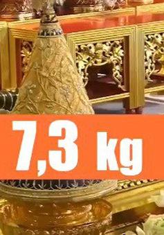 Những con số ấn tượng liên quan đến lễ đăng cơ của Nhà vua Thái Lan