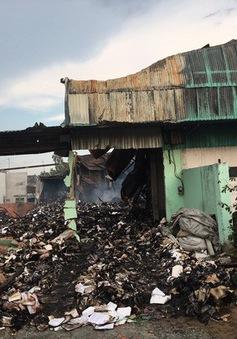 Cháy kho tư liệu xe bus ở TP.HCM