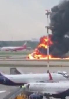 Việt Nam gửi điện thăm hỏi Nga vụ tai nạn máy bay làm 41 người thiệt mạng