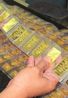 Giá vàng miếng đầu tuần bật tăng