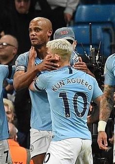 Thắng tối thiểu Leicester City, Manchester City trở lại ngôi đầu
