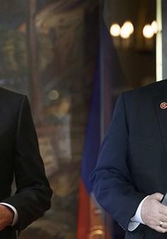 Ngoại trưởng Nga, Mỹ thảo luận nhiều vấn đề nóng