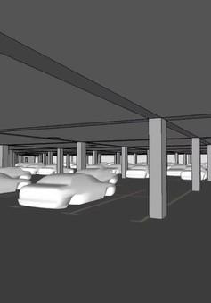 Hà Nội sẽ có thêm bãi đỗ xe ngầm trong công viên Thủ Lệ