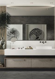 Mẫu phòng tắm đẹp hiện đại, phong cách
