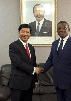 Đặc phái viên của Thủ tướng Chính phủ thăm và làm việc tại Cameroon