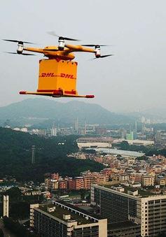 Người Trung Quốc trải nghiệm công nghệ giao hàng bằng máy bay không người lái