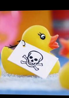 Phát hiện đồ chơi Trung Quốc có chất gây độc hại cho trẻ nhỏ