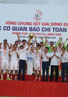 Đội tuyển VTV vô địch giải bóng đá các cơ quan báo chí toàn quốc Press Cup 2019