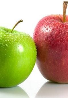 Lợi ích khi ăn táo mỗi ngày