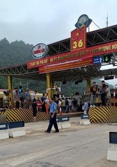 Đề nghị xử lý ùn tắc tại trạm BOT Hòa Lạc - Hòa Bình