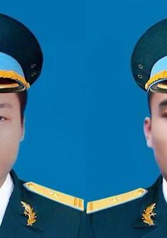 Hôm nay (16/6), tổ chức Lễ tang 2 phi công hy sinh trong vụ máy bay rơi ở Khánh Hòa