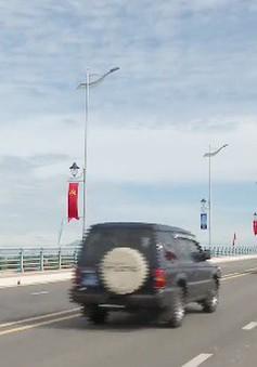 Khánh thành cầu Thạch Bích bắc qua sông Trà Khúc